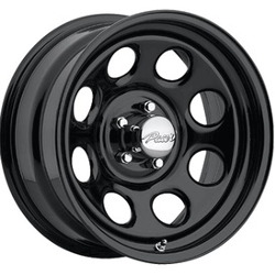 Pacer 297B SOFT 8 Black 15X7 6-139.7 Wheel