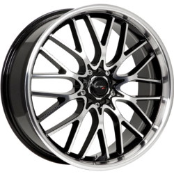Drifz 302MB FX Black 18X8 5-112 Wheel
