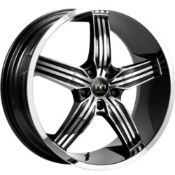 Motiv 401CB MOTION Chrome 22X9 5-112 Wheel