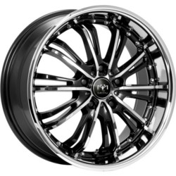 Motiv 402CB Chrome 22X9 5-114.3 Wheel
