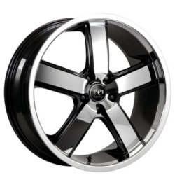 Motiv 403CB Chrome 20X10 5-114.3 Wheel