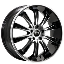 Motiv 405CB Chrome 20X10 5-114.3 Wheel