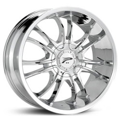 Platinum 406C AMERICA RWD Chrome Wheel