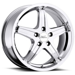 Milanni 446-KOOL WHIP FWD 5 SPOKES Chrome Wheel
