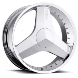 Milanni 448-BLADE Chrome 20X8 5-115 Wheel