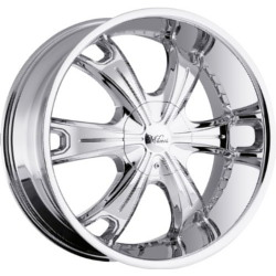 Milanni 452-STELLAR Chrome 17X8 6-114.3 Wheel