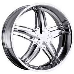 Milanni 457-FORCE Chrome 18X8 5-114.3 Wheel