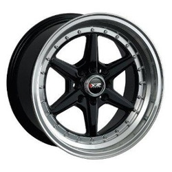 XXR 501 Black/Ml 16X8 4-100 Wheel