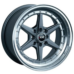 XXR 501 Gun Metal/Ml 15X8 4-100 Wheel