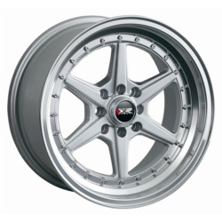 XXR 501 Hyper Silver/Ml 15X7 4-100 Wheel