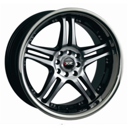 XXR 502 Machined/Ssp 18X8 5-100 Wheel