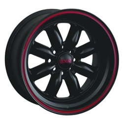 XXR 513 F-Black/Red 15X7 4-100 Wheel