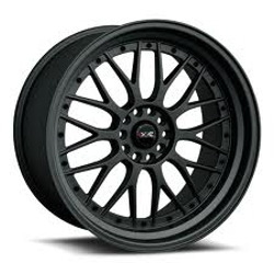 XXR 521 F-Black w/Chrome 20X9 5-120 Wheel