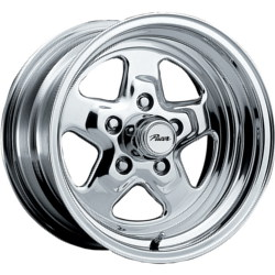 Pacer 521P - DRAGSTAR Polished 15X8 4-108 Wheel