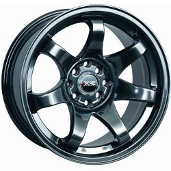 XXR 522 Chromium Black 19X10 5-120 Wheel
