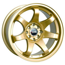 XXR 522 Gold 17X8 5-100 Wheel