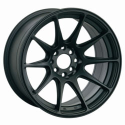 XXR 527 F-Black 17X8 5-100 Wheel