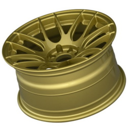 XXR 530 Gold Wheel