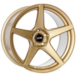 XXR 535 Gold 17X7 4-100 Wheel