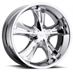Milanni 554-BITCHIN Chrome 18X8 5-115 Wheel