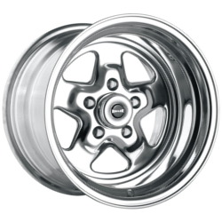 Ridler 655 Polished 17X7 5-120.7 Wheel