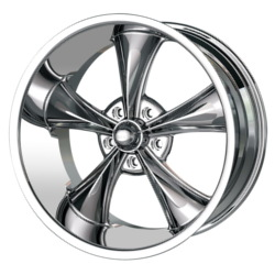 Ridler 695 Chrome 18X10 5-120.7 Wheel