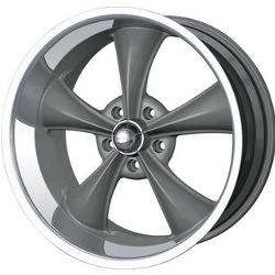 Ridler 695 Grey 20X10 5-114.3 Wheel