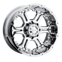 Gear Alloy 715C RECOIL Chrome 20X9 8-165.1 Wheel