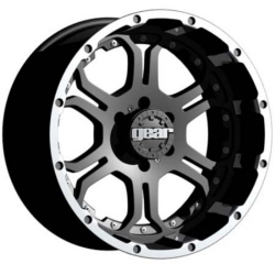 Gear Alloy 715MB RECOIL Black 18X9 6-135 Wheel