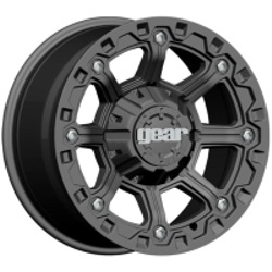 Gear Alloy 718B BLACKJACK Black 17X9 8-170 Wheel