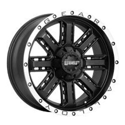Gear Alloy 723MB RWD Black 22X10 8-180 Wheel