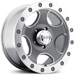 Gear Alloy 729M Machined 18X9 6-135 Wheel