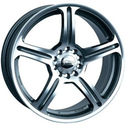 Primax 772 Machined 18X8 4-100 Wheel