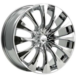 Pacer 776C SILHOUETTE Chrome 15X7 5-100 Wheel