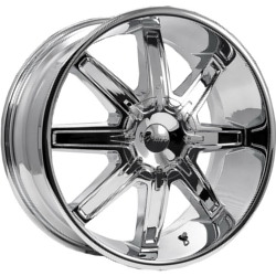 Pacer 777C TENACIOUS FWD Chrome Wheel
