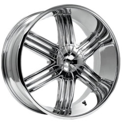 Pacer 779C LUXOR RWD Chrome 24X10 5-114.3 Wheel
