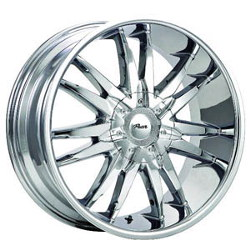 Pacer 780C FWD Chrome 18X8 5-108 Wheel