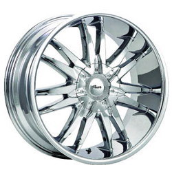 Pacer 780C RWD Chrome Wheel