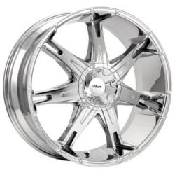 Pacer 781C FWD Chrome 22X10 5-115 Wheel