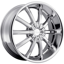 Pacer 782C FWD Chrome 17X8 5-110 Wheel