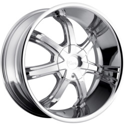 Pacer 783C RWD Chrome Wheel