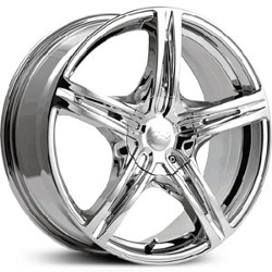 CX 817C CX17 Chrome 15X7 5-100 Wheel