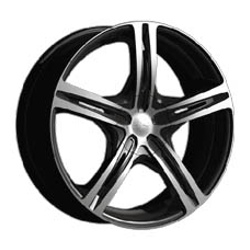 CX 817MB CX17 Black 17X8 4-100 Wheel