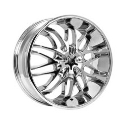 CX 818C CX18 Chrome 18X8 5-110 Wheel