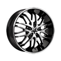CX 818MB CX18 Black 17X8 5-112 Wheel