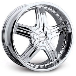 Cruiser Alloy 905C GENESIS FWD Chrome Wheel