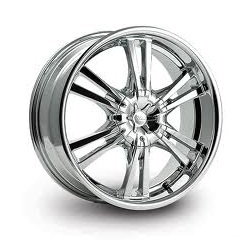 Cruiser Alloy 906C RAPTOR FWD Chrome 16X8 5-110 Wheel