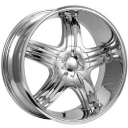 Cruiser Alloy 908C FWD Chrome 18X8 5-114.3 Wheel