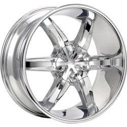 Cruiser Alloy 909C RWD Chrome Wheel