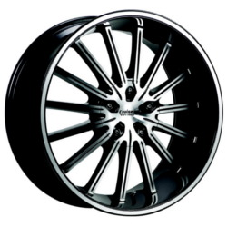 Cruiser Alloy 910MB FWD Black 17X8 5-108 Wheel